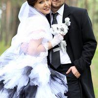 Черно-белая свадьбы