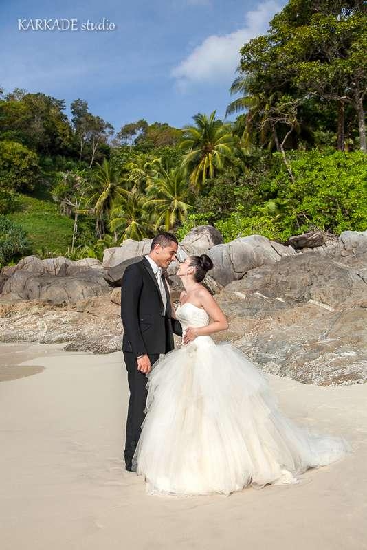 Французская Свадьба Софи и Энтони на Пляже - фото 3302287 Видеостудия Karkade studio