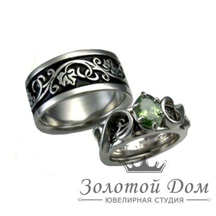 Обручальные кольца Эльфийские