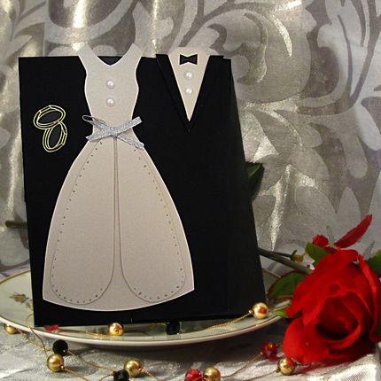 Свадебные приглашения Жених и невеста