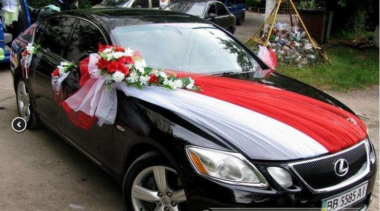 Украшения на машину к свадьбе