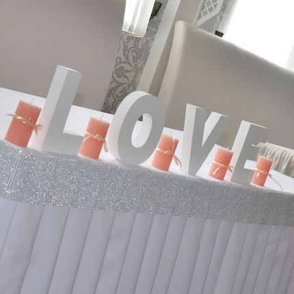 Буквы из пенопласта на свадьбу Луганск