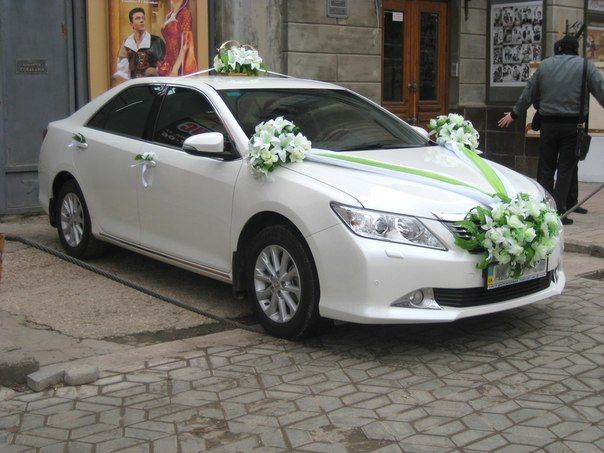 Украшение на свадебную машину Луганск
