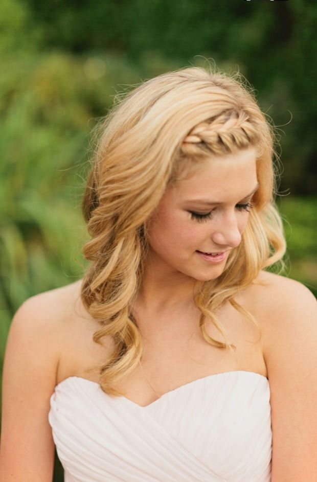 центре косы на средние волосы фото с челкой полный отваги