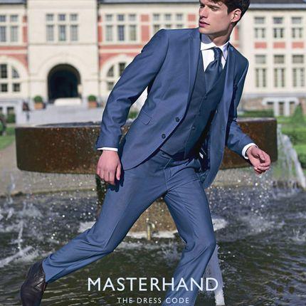 Мужской костюм Santon Masterhand slim fit