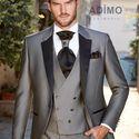 Серый костюм-тройка для жениха Adimo Cerimonia