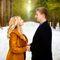 свадьба в лесу рустик зима