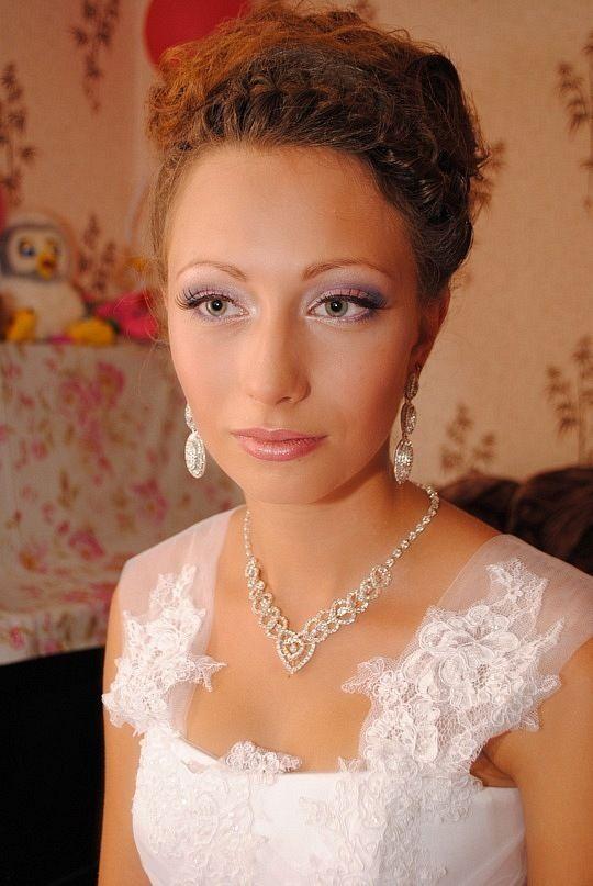 моя работа на свадьбе - фото 15705784 Визажист Плаксина Наталья
