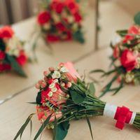 Букет подружки невесты