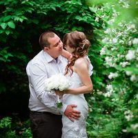 Катюша и Саша, летняя фиолетовая свадьба.