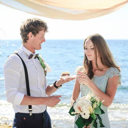 Свадебная церемония в пригороде Афин