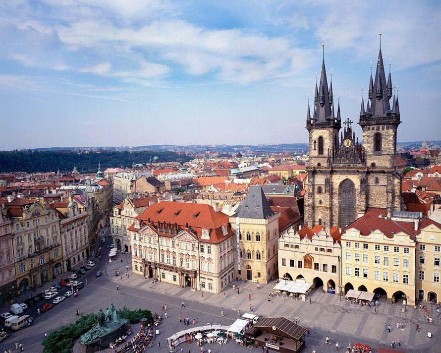 Видеосъёмка в Праге