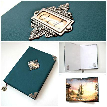 Книга пожеланий в морском стиле