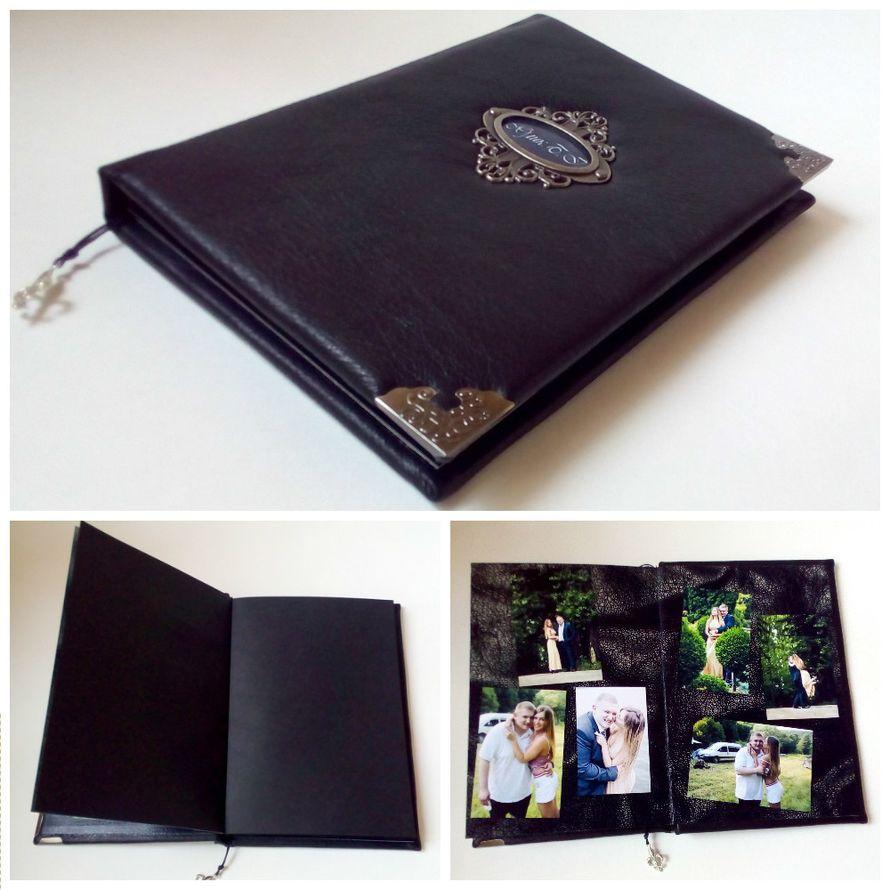 Книга пожеланий с черными листами