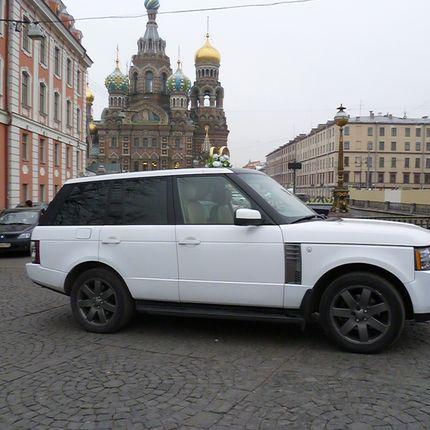 Аренда белоснежного Range Rover Vogue