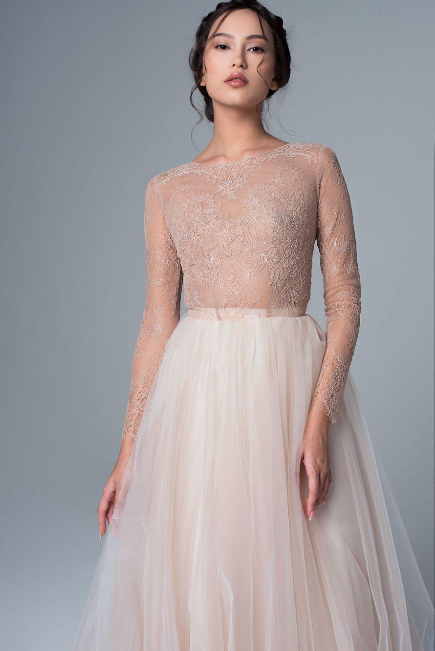 Свадебное платье «Луиза» Цена: 38 900 ₽ - фото 16449146 Piondress - свадебная мастерская платьев