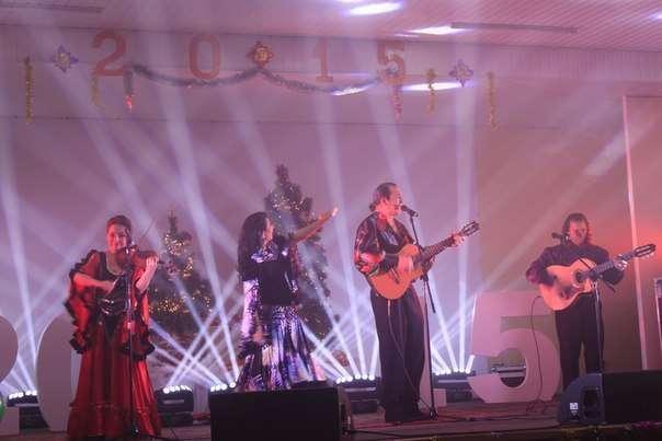 """Фото 6448720 в коллекции Благотворительный концерт, посвящённый Новому году . - Цыганская шоу-группа """"Ан де Форо"""""""