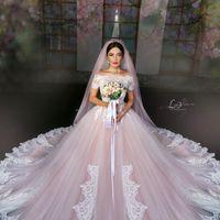 Свадебное платье, фата: SOVANNA Стиль, прическа, макияж: салон BABAEVSKI; Джейхун Бабаев, Севинч Бабаева Фото: Lilit Lo