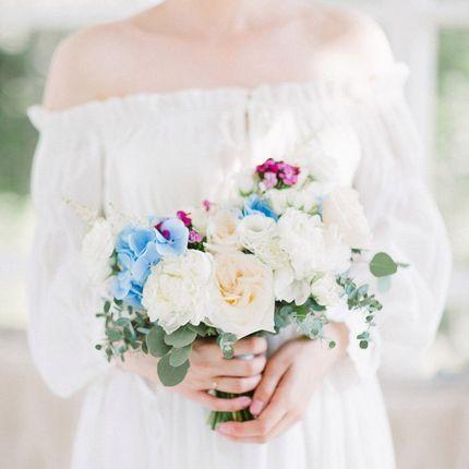 Мультиколор букет невесты