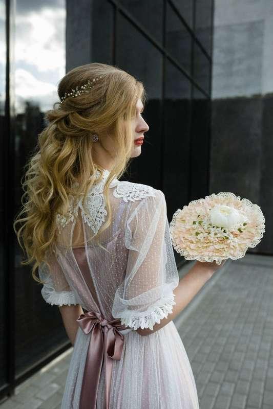 Винтажное свадебное платье, ориентировочная стоимость подобного 27 000 руб. - фото 16262258 Студия свадебного и вечернего платья NinaKosmina