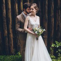 Свадебное платье для Татьяны, было изготовлено дистанционно, без примерок, ориентировочная стоимость подобного 25 тыс.руб.(работа+ткани)
