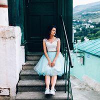 Свадебный комплект топ+юбка для Юлии, ориентировочная стоимость подобного 14000 р.