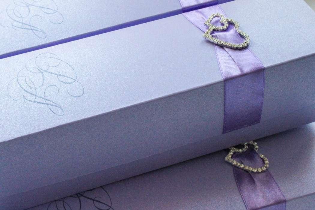 """Приглашение свиток в коробочке - фото 7100120 Полиграфия и аксессуары """"Мастерская приглашений"""""""
