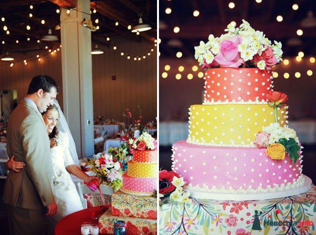 Как в домашних условиях сделать свадебный торт 831