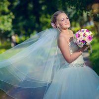 солнечный свадебный день