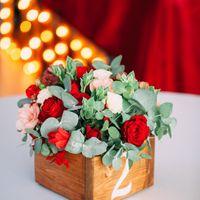 """Оформление свадьбы в ресторане """"Бали"""" в красном цвете"""