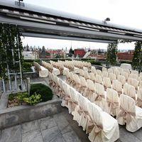 Церемония на террасе ресторана Zlata Praha