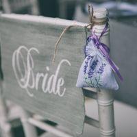 бон боньерки для гостей с лавандой, место невесты, рустик
