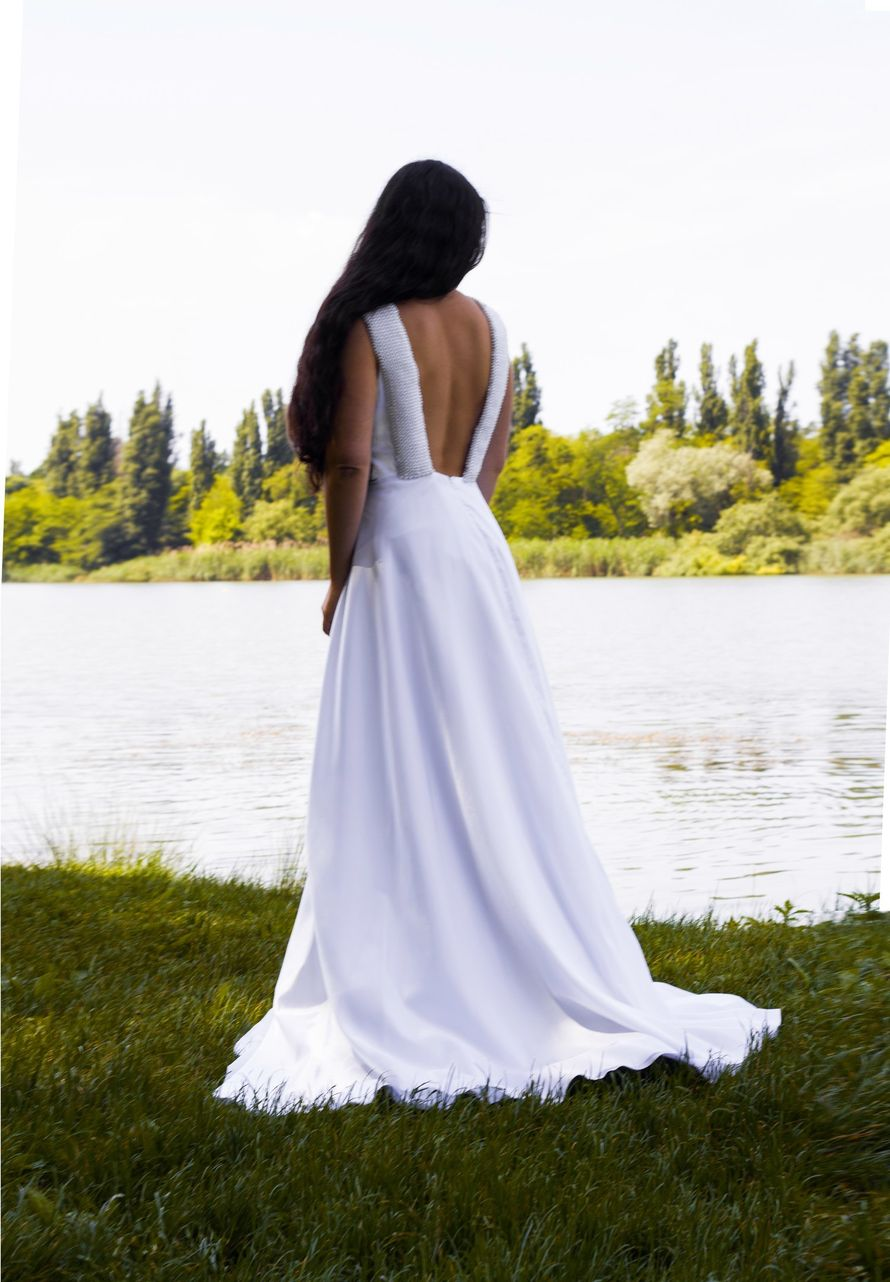Свадебное платье - модель 011607