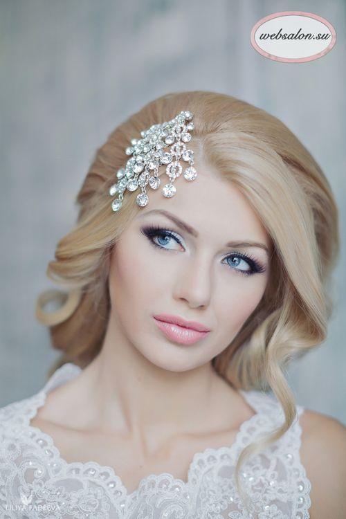 Прическа и макияж невесты 2017-2018