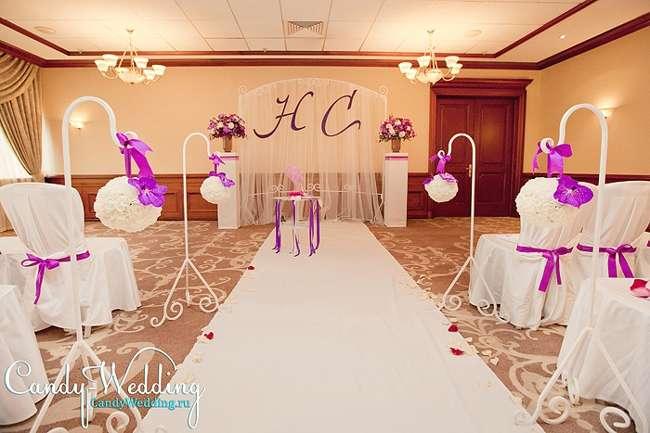 церемония в Mariott для агентства Candy wedding - фото 2137982 ЯDecor - студия флористики и декора