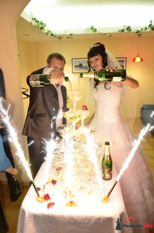 """Свадебная пирамида - фото 349824 Агентство праздничных услуг """"Романтик"""""""