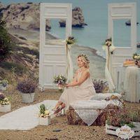 Свадьба в стиле рустик на месте рождения Афродиты!