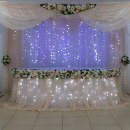 Оформение свадебного шатра