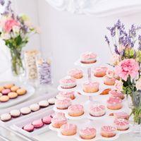 Сладкий стол mini в розовых тонах
