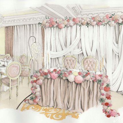 Разработка концепции и флористическое оформление