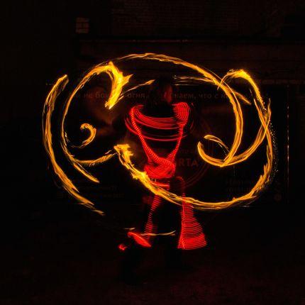 Огненное шоу - сольное выступление (1 артист)