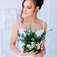 Съемка для студии свадебных стилистов  Анны Леоновой  Стилист: Надежда К. Флорист: [club57158754|L`umore. Цветы и декор.] Платье:
