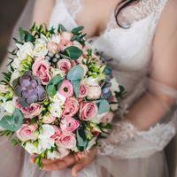 Букет невесты с суккулентами Флорист Пашкова Ольга