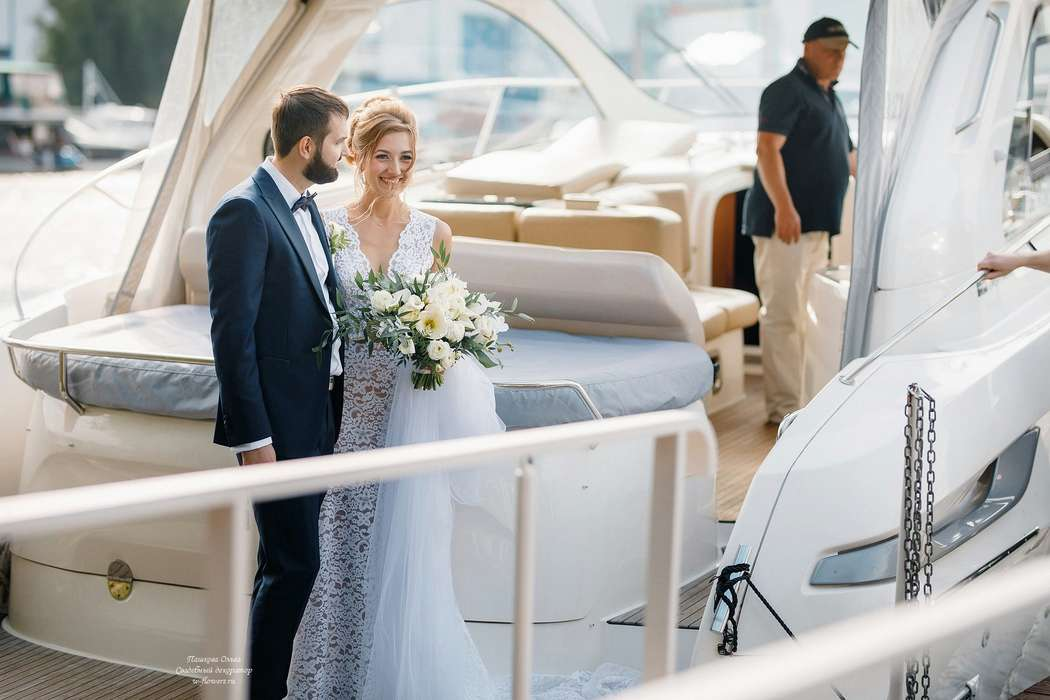 Фото Азат Биккинин Декор Пашкова Ольга Координация WeddingAtmosfera Яхт-клуб Нептун - фото 16261096 Пашкова Ольга - флорист-дизайнер