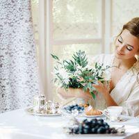 Белый букет невесты Фото Азат Биккинин Флорист Пашкова Ольга