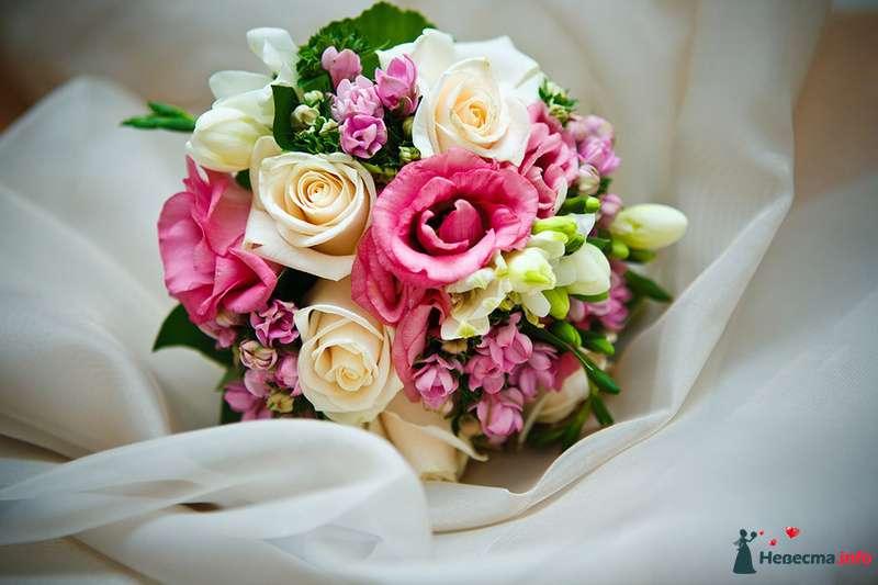 Букет невесты ника с розами