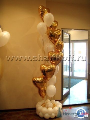 Композиция из воздушных шаров - фото 23281 Шарландия - оформление праздника