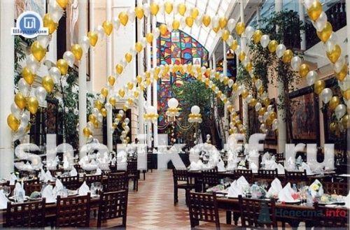 Свадебное оформление шарами - фото 23285 Шарландия - оформление праздника