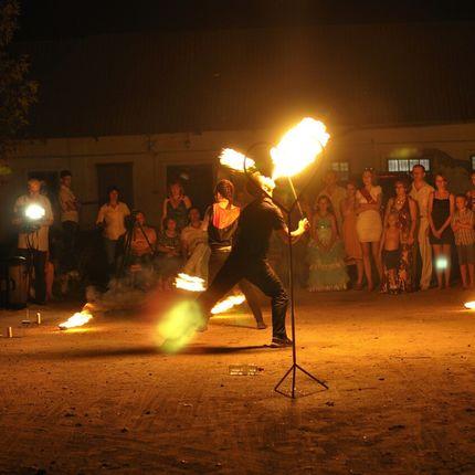 Fire show на торжество