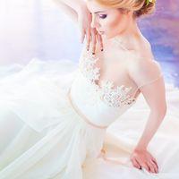 Анна Киреева для свадебного салона ателье Capelli Couture  Photo: Иванова Анна (в замужестве Киреева)   Make-up & Hair: Dianitta Di